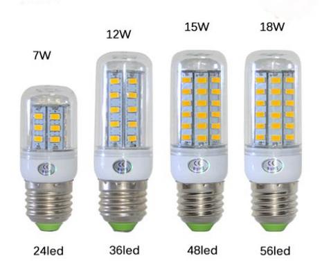 lampe led E27 economie energie