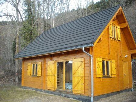 maison en bois chalet en bois - Construire Ma Maison En Bois